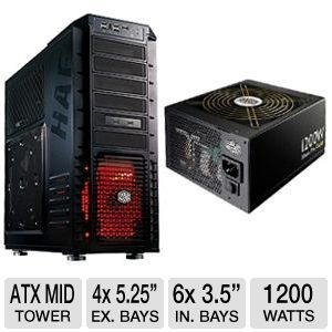 Cooler Master HAF 932  Advance ATX Full Tow Bundle