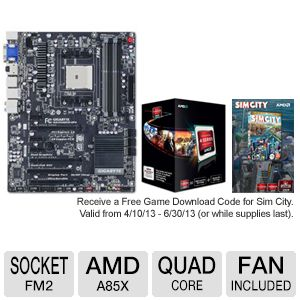 GIGABYTE GA-F2A85X-UP4 FM2 A8 5600K Bundle
