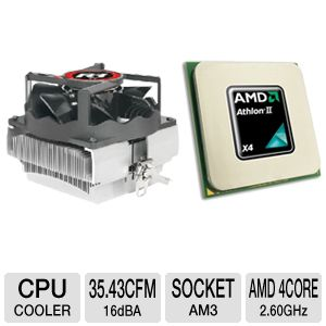 AMD Athlon II X4 620e 2.60GHz Quad-Core OEM Bundle