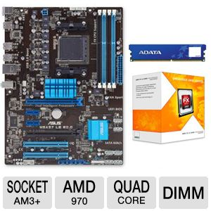 ASUS M5A97 LE R2.0 AM3+ Motherboard Bundle
