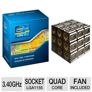 Intel Core i7-2600K 3.40 GHz Quad-Core Unlo Bundle