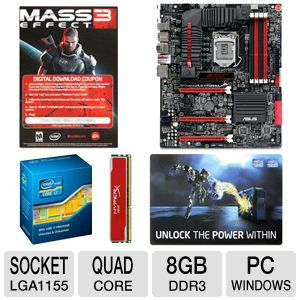 ASUS Intel Z77 Express Motherboard Bundle
