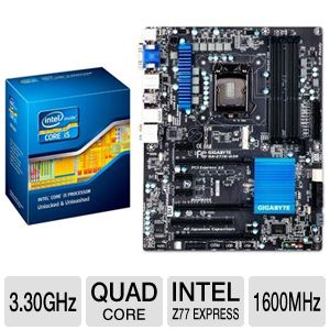 Intel Core i5-2500K 3.30GHz Quad-Core Unloc Bundle