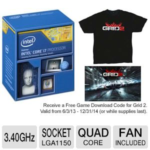 Intel Core i7-4770 Processor Bundle