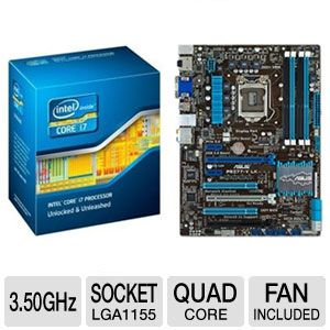 Intel Core i7-3770K 3.50 GHz Quad Core Unlo Bundle