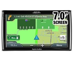 Magellan RM1700 7&quot; GPS w/TTS/LA