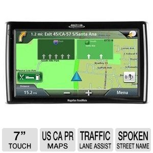 Magellan RM1700 7&quot; GPS w/Speech - RB