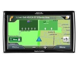 Magellan 7 inch GPS Navigation with Text-To-Speech, Lane Assist, 3D, US/Canada/Puerto Rico Maps, AV Inputs - Model No.