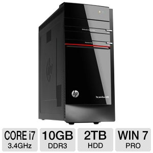 HP Pavilion HPE h8-1213c Desktop PC
