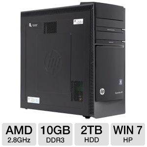 HP Pavilion AMD FX-8100 2TB Desktop PC