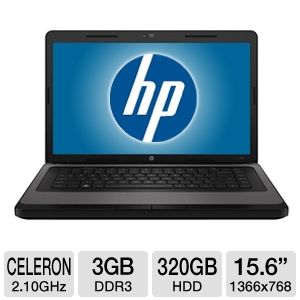 HP Celeron 320GB HDD Notebook
