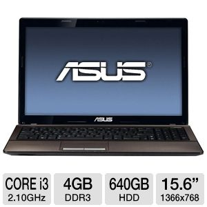 ASUS K53E-BBR7 Refurbished Notebook PC