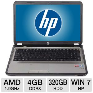 "HP Pavilion g7 17.3"" AMD Dual-Core 320GB Notebook"