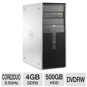 HP Core 2 Duo 500GB HDD Desktop (Off-Lease)