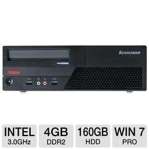 Lenovo ThinkCentre Core 2 Duo 160GB Desktop PC