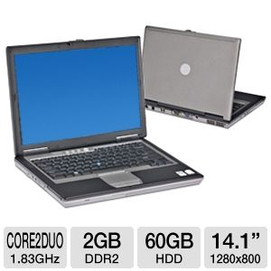 Dell Latitude D620 Notebook PC (Off-Lease)