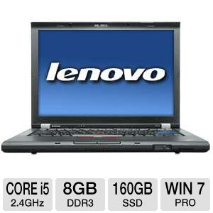 "Lenovo ThinkPad 14.1"" Core i5 160GB SSD Notebook"