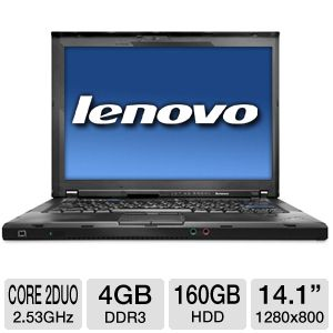 Lenovo T400 Core 2 Duo Notebook PC (Off Lease)