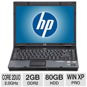 HP 6910P C2D 2GB, 80GB Win XP Pro Notebook PC 
