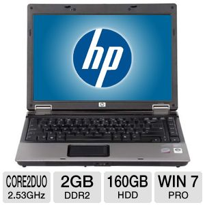 "HP Compaq 6530b 14.1"" Core 2 Duo 160GB Notebook"
