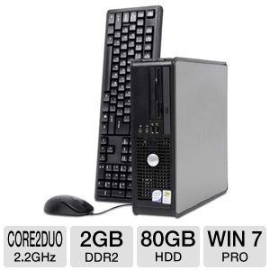 Dell Optiplex 755 Core 2 Duo 80GB Desktop PC