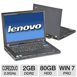 "Lenovo ThinkPad R61 14.1"" Notebook (Off-Lease)"