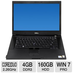 "Dell Latitude 15.4"" Core 2 Duo 160GB Notebook"