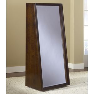 Legend Wood Bookcase Back Floor Mirror