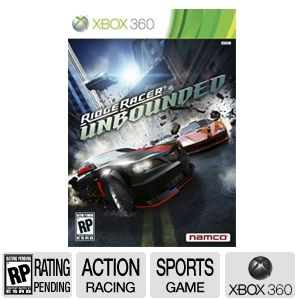 Namco Ridge Racer Unbounded Racing Video Game
