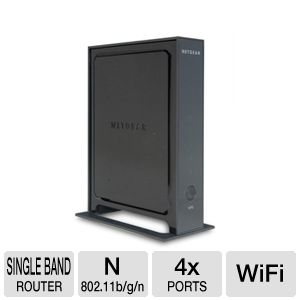 Netgear WNR2000 Wireless N Router (Recertified)