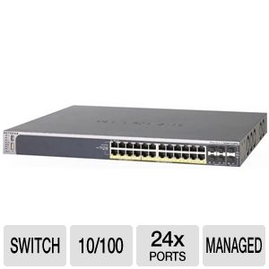 Netgear GSM7228PS POE Managed ProSafe Switch