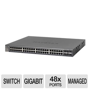 Netgear ProSafe GSM7352Sv2 Gigabit L3 Switch
