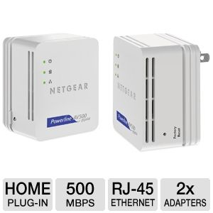 NetGear Powerline Nano 500 Set