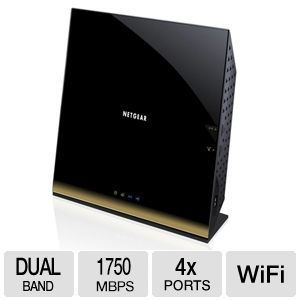 Netgear 1750 Mbps R6300 Wirelss 802.11AC Router 