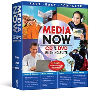 Media Now CD & DVD Burning Suite
