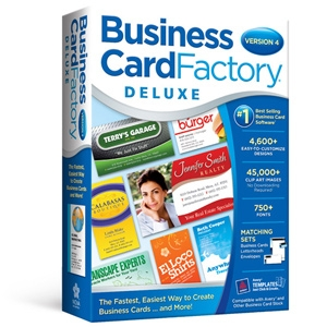 Nova Development Business Card Factory Deluxe