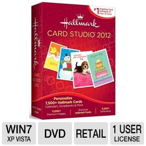 Hallmark Card Studio 2012 Greeting Card Software