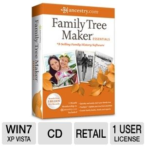 Ancestry Family Tree Maker Essentials Software