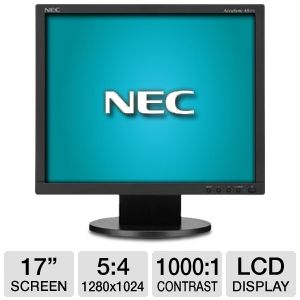 NEC AS171-BK 17&quot; LCD Monitor