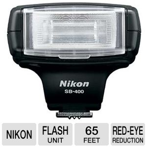 Nikon SB-400 Speedlight Unit Flash