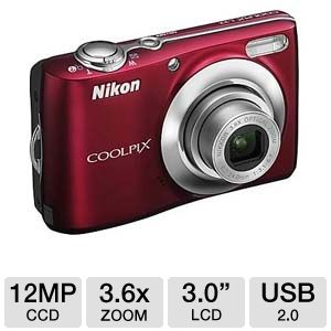 Nikon Coolpix L22 26198 Digital Camera