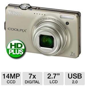 Nikon Coolpix S6000 26213 Digital Camera