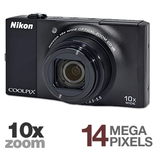 Nikon Coolpix S8000 26191 Digital Camera
