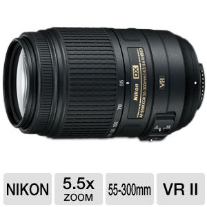 Nikkor AF-S DX 55-300mm ED VR Lens Bundle