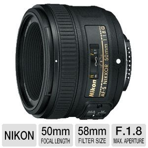 Nikon AF-S NIKKOR Lens 