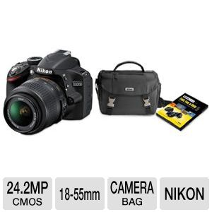 Nikon D3200 Digital SLR Camera  Bundle