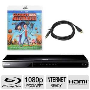 Samsung 3D Smart 1080p Blu-Ray Player  Bundle