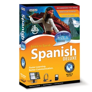 Learn to Speak Spanish Deluxe 10 Edu. Software