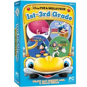 Encore Disney Fun &amp; Skills 1st-3rd Grade Software