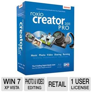 Roxio Creator 2011 Pro Software